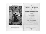 Frontispiece and Titlepage of The Conjuror's Magazine  Pub 1792