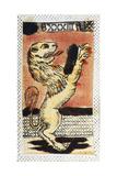 Tarot Card for Leo  16th Century  Italy