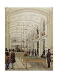 Billiard's Hall in Vienna  Austria  19th Century