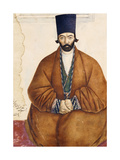 Portrait of a Qajar Noble  C1864-5