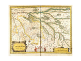 Map of Loudunois in 1627  1631