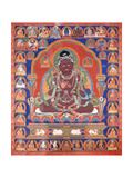A Thang-Ka Depicting the Mahasiddha Bir Va Pa  C 1600