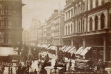 Cheapside from Mansion House  London  C1885