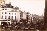 View from Piccadilly Circus Down Lower Regent Street  London  C1885