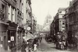Fleet Street and St Paul's  London  C1880