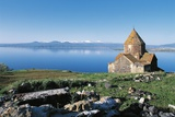 Holy Mother of God Church  1215-1255  on Lake Sevan  Armenia