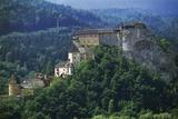 Orava Castle  Oravsky Podzamok  Slovakia