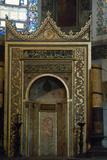 Turkey Istanbul Hagia Sophia Mihrab  Pointing Towards Mecca