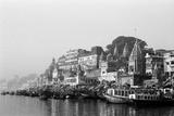 Ghats on River Ganges  Varanasi  Uttar Pradesh  India  1982
