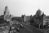 Victoria Terminus and Bmc Buildings  Mumbai  Maharashtra  India  1982