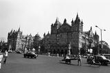 Victoria Terminus Railway Station  Mumbai  Maharashtra  India  1982