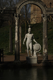 Hadrian's Villa  Statue in the Canopus  God Mars  2nd Century  Italy