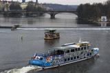 Cruise on the River Vltava  Prague  Czech Republic