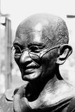 Mahatma Gandhi Bronze Statue  Mumbai  Maharashtra  India  1983