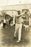 Boxer Jack Dempsey Tries Out a Different Sport  January 23  1924