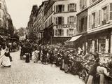 Rue Lepic  Montmartre  Paris  1880