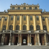 Low Angle View of a Palace  Schonbrunn Palace  Vienna  Austria