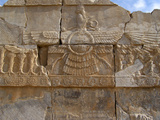 Relief Depicting the God Ahuramazda  Palace of King Darius  Persepolis