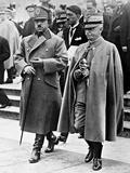 Victor Emmanuel III and Amanullah Khan  Rome  Italy  1928