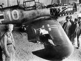 German Messerschmitt 109 after a Mission over Malta  1942