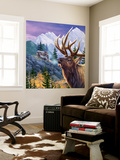Big Buck Pro Open Season Cabinet Art