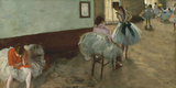 The Dance Lesson  c 1879