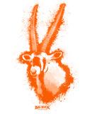 Gemsbok Spray Paint Orange