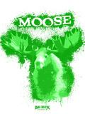 Moose Spray Paint Green