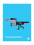 Wee Dinos  Compsognathus