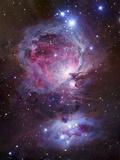 M42  the Orion Nebula (Top)  and NGC 1977  a Reflection Nebula (Bottom)