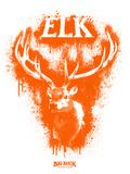 Elk Spray Paint Orange