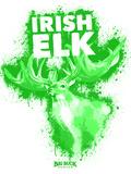Irish Elk Spray Paint Green
