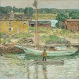 Oyster Sloop  Cos Cob 1902