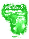 Wildebeest Spray Paint Green