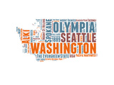 Washington Word Cloud Map