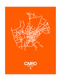 Cairo Street Map Orange