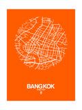 Bangkok Street Map Orange