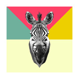 Party Zebra Head