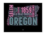 Oregon Word Cloud 2