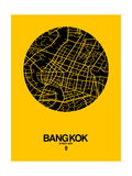 Bangkok Street Map Yellow