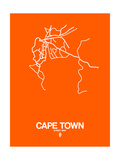 Cape Town Street Map Orange