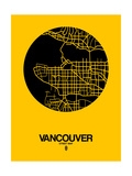 Vancouver Street Map Yellow