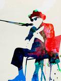 Johnny Lee Hooker Watercolor