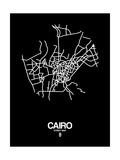 Cairo Street Map Black