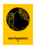 San Francisco Street Map Yellow