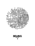 Beijing Street Map White