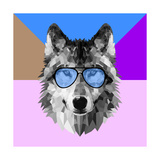 Woolf in Blue Glasses
