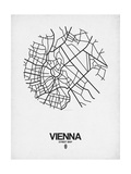 Vienna Street Map White