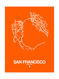 San Francisco Street Map Orange
