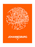 Johannesburg Street Map Orange